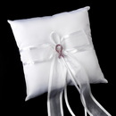 Elegance by Carbonneau RP-90-Brooch-120-S-Pink Ring Pillow 90 with Pink Breast Cancer Brooch 120