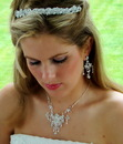 Elegance by Carbonneau Set-HP7095-NE7300 Couture Tiara & Choker Jewelry Set NE 7300 & HP 7095