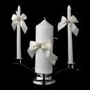 Elegance by Carbonneau UC-763 Two Rings Unity Candle Set 763