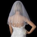 Elegance by Carbonneau V-227 Bridal Wedding Single Layer Child's Communion Shoulder Length Veil 227