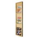 WG Wood Products MR-13 Triple On the wall magazine rack