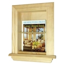 WG Wood Products MR-1 In the wall Magazine Rack