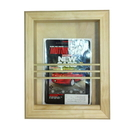 WG Wood Products MR-6 Bevel Frame recessed magazine rack