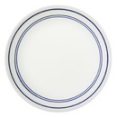 """CORELLE 1055630 Livingware Classic Café Blue 8 1/2"""" Salad / Lunch Plate"""