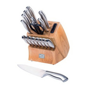 CHICAGO CUTLERY 1067823 Insignia Steel 18-pc Block Set