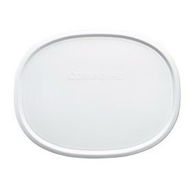 CORNINGWARE 1075645 French White 1 1/2-qt Oval Plastic Lid