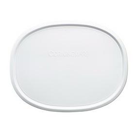 CORNINGWARE 1075645 French White 1 1/2-qt Oval Plastic Lid