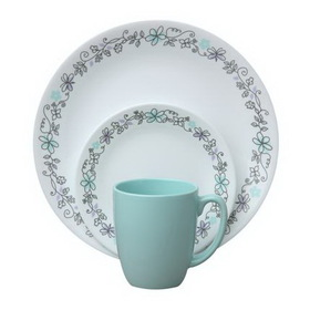 CORELLE 1083298 Livingware Day Dream 16-pc Dinnerware Set