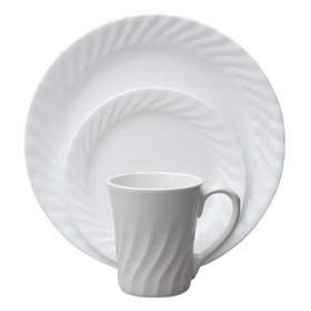 CORELLE 1086524 Vive Enhancements 16-pc Dinnerware Set