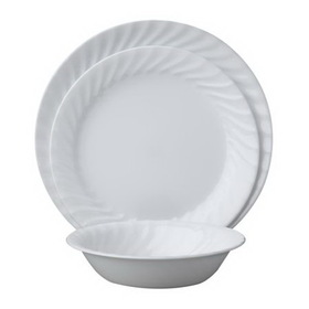 CORELLE 1088631 Vive Enhancements 18-pc Dinnerware Set
