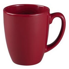 CORELLE 1090813 Livingware Red 11-oz Stoneware Mug