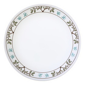 "CORELLE 1091081 Livingware Tree Bird 8 1/2"" Lunch Plate"