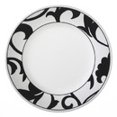 """CORELLE 1094794 Vive Noir 10 3/4"""" Dinner Plate"""