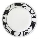 """CORELLE 1094795 Vive Noir 8 1/2"""" Salad / Lunch Plate"""