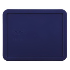 PYREX 1104628 Blue 11-cup Rectangular Plastic Lid