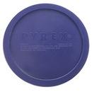 PYREX 1105789 Dark Blue 3-cup Round Plastic Lid