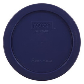 Pyrex 1113769 Blue 4 Cup Round Plastic Lid