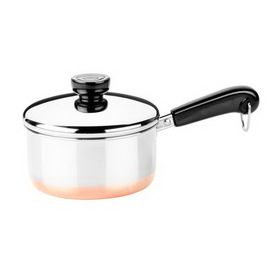 REVERE 3514017 Copper Clad 1-qt Lided Saucepan