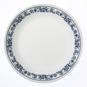 """CORELLE 6010835 Livingware Old Town Blue 10 1/4"""" Dinner Plate"""