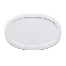 CORNINGWARE 6017963 French White 15-oz Oval Plastic Lid