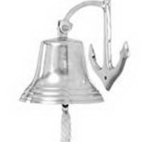 Woodland 28301 Aluminuminum Wall Bell, Price/Each