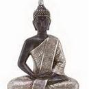 "Woodland 44127 11"" Thai Buddha Meditating Peace Harmony Statue"