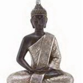 "Woodland 44127 11"" Thai Buddha Meditating Peace Harmony Statue, Price/Each"