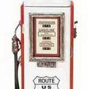 Woodland 49767 Wood Gas Pump Clock 21