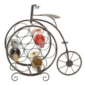 "Woodland 65883 METAL WINE RACK 21"" WIDE, 19"" HEIGHT, Price/Each"