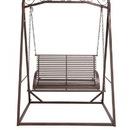 Benzara 96983 The Cool Metal Garden Swing