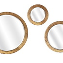 Benzara IMX-83437-3 Sagira Wall Mirror - Set Of 3
