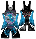 Woldorf USA w404A Wrestling Singlet Sublimation