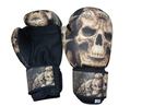 Woldorf USA w505-E Washable Boxing Gloves Tan Skull