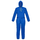 TopTie Men's Hood Long Sleeve Coveralls Blended Oversized Fit Work Wear Overalls