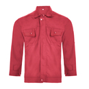 TopTie Mens Long Sleeve Workwear Jackets Canvas Work Uniforms Coats