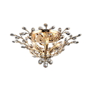 Warehouse of Tiffany RL8024 Ava 6-light Gold 27-inch Crystal Flush Mount