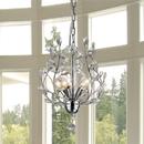 Warehouse of Tiffany RL8026 Marie 4-light Chrome 13-inch Crystal Chandelier