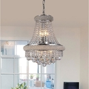 Warehouse of Tiffany RL8096A Chelsea 8-light Crystal 16-inch Chrome Chandelier