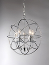 Warehouse of Tiffany RL8121CH Aidee 5-light Chrome 16-inch Spherical Chandelier