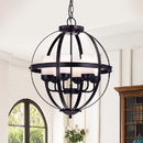 Warehouse of Tiffany RL8132ORB-CG Almog Oil Rubbed Bronze 19-inch Round Pendant Light