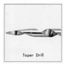 WoodOwl 00719 #12 Taper Drill