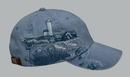 Adams LPLC1 Lighthouse Coast 100% Cotton Twill 6 Panel Low Profile Cap