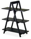 Winsome 20130 Wood A-Frame 3-Tier Shelf