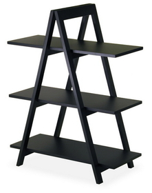 Winsome 20130 Wood A-Frame 3-Tier Shelf