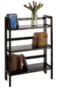 Winsome 20896 Wood 3-Tier Folding and Stackable shelf