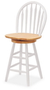 Winsome 53624 Wood Windsor Swivel Stool, 24