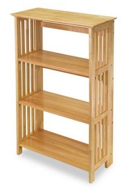 Winsome 82427 Wood Mission 4-Tier Shelf