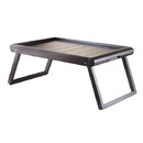 Winsome 92223 Elise Breakfast Tray, Dark Espresso Finish