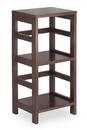 Winsome 92314 Wood Leo Shelf / Storage, Book, 2-Tier, Narrow