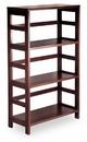 Winsome 92425 Wood Leo Shelf / Storage, Book, 3-Tier Wide
